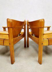 Swedish design lounge chairs safari stoelen Karin Mobring IKEA