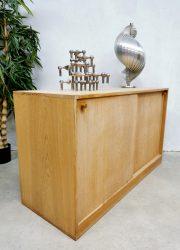 Danish design light oak cabinet Deense kast Kurt Ostervig KP Mobler