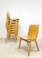 Ronald Rainer Stadhalle Wenen stapelbare stoelen stacking chairs