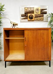 cabinet Dutch design tambour sliding door