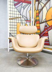 Dutch design 'Big Tulip' easy chair lounge fauteuil Artifort Pierre Paulin F545
