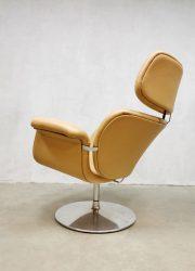 Artifort vintage design lounge chair fauteuil big Tulip F545 Pierre Paulin