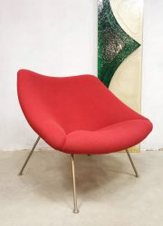 Dutch design 'Oyster' easy chair Artifort Pierre Paulin F157 'Ladies model'