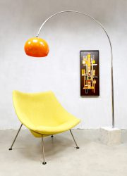 Dutch vintage design easy chair lounge fauteuil Artifort Pierre Paulin Oyster