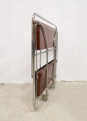 Vintage Bremshey & Co Gerlinol Design Dinett Serving Trolley serveerwagen 1960 serveerwagen