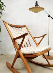 Frank Reenskaug schommelstoel rocking chair Bramin