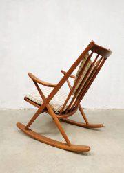 Bramin vintage design rocking chair Bramin schommelstoel Frank Reenskaug 4