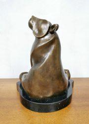 brons bronze beer sculpture beeld van der straete