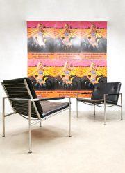 Martin Visser vintage SZ03 armchairs t spectrum lounge fauteuils