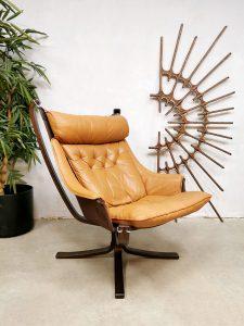 Vintage midcentury Falcon armchair Sigurd Ressel lounge fauteuil 1970