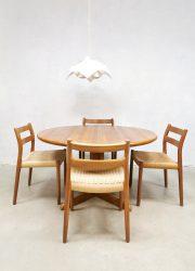 midcentury Moller dining table eetkamertafel massief teak