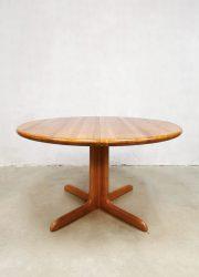 solid wood dining table Moller Danish design tafel