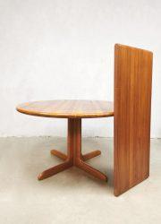 Danish design dining table solid woof eetkamertafel Moller