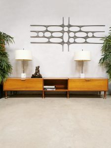 Dutch design lowboard sideboard tv meubel A.A. Patijn Zijlstra Joure Poly Z