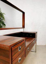 dressing table vintage palissander kaptafel 1970 4