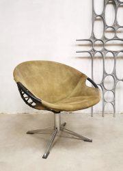 Lusch & Co balloon chair circle swivel easy chair