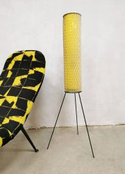 Vintage 'Rocket' floor lamp tripod vloerlamp Josef Hurka Napako
