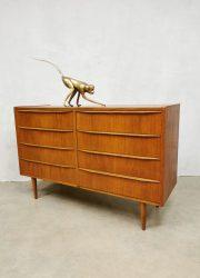 jaren 60 teak Danish design chest of drawers cabinet deense ladenkast teak
