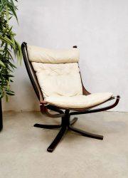 Falcon easy chair & stool Vatne Mobler Sigurd Ressel