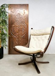 Norwegian design Falcon easy chair lounge fauteuil Sigurd Resell for Vatne Møbler 1970s