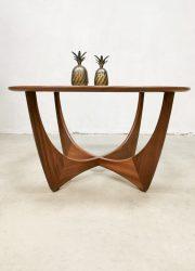 vintage midcentury G plan Astro coffee table salontafel Victor Wilcens teak wood sixties jaren 60 design