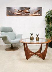 Midcentury vintage design 'Astro' coffee table salontafel G-Plan Victor Wilkins