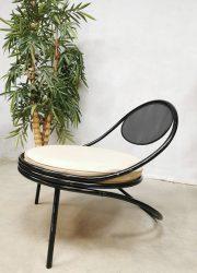 Mathieu Matégot Copacabana loung easy chair fauteuil 1955 Société Matégot, Paris France