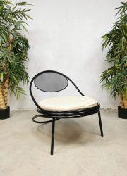 Midcentury design 'Copacabana' easy chair lounge fauteuil Mathieu Mategot Paris