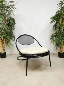 Midcentury design 'Copacabana' easy chair lounge fauteuil Mathieu Mategot Paris