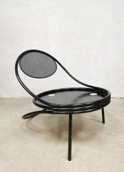 vintage design Mathieu Matégot Copacabana loung easy chair fauteuil 1955 Société Matégot, Paris France 8