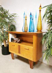 midcentury jaren 60 design cabinet vintage tv meubel kast 4