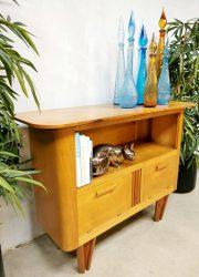 Vintage Dutch design cabinet tv meubel kast 'sixties delight'