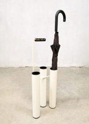 Midcentury minimalism umbrella stand paraplu bak 'Modernist design'