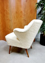 Vintage design teddy cocktail stoelen lounge easy chairs expo stoel 4