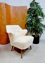 Artifort Theo Ruth Midcentury design expo cocktail armchair lounge stoel 'Cute Teddy'