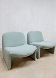 Midcentury design Alky easy chair lounge fauteuil Castelli Artifort Piretti