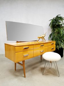 vintage Meredew Ltd. dressing table wood kaptafel spiegel