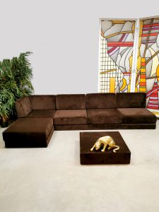 Modcentury Tata Ronkholz-Tölle sofa bank Habit design modular modulair seating group