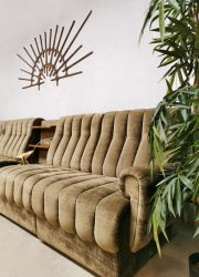 Midcentury modular sofa modulaire sofa seating group 'Ultimate cocooning'