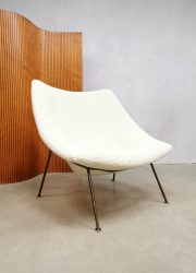 midcentury vintage design Oyster chair Pierre Paulin Arifort