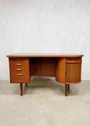 Midcentury Danish design Kidney desk vintage bureau Kai Kristiansen