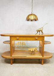 Midcentury design counter display cabinet vitrinekast toonbank 'Elegance'