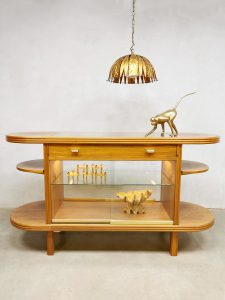 Midcentury design counter display cabinet vitrinekast toonbank 'Elegance'