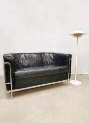 Vintage Italian design sofa loveseat bank 'Minimalism'