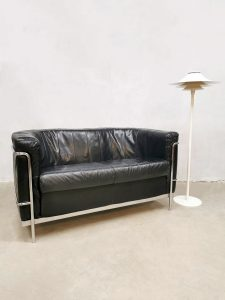Vintage Italian design sofa loveseat bank 'Minimalism'