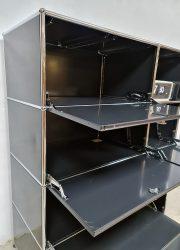 vintage design wandsysteem wall unit USM Haller office modernism cabinet