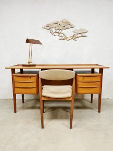 Midcentury Danish design desk bureau Peter Lovig Nielsen Dansk