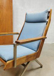 Lotus Gelderland design armchair lounge fauteuil Rob Parry