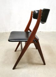 vintage sixties dining chairs eetkamerstoelen Webe Louis van Teeffelen dinner chair