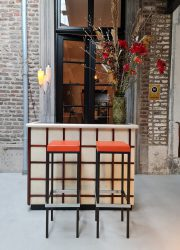 vintage cocktail bar cabinet retro minimalism